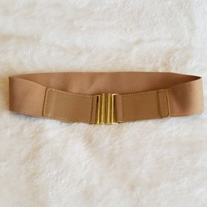 Tan and Gold Belt